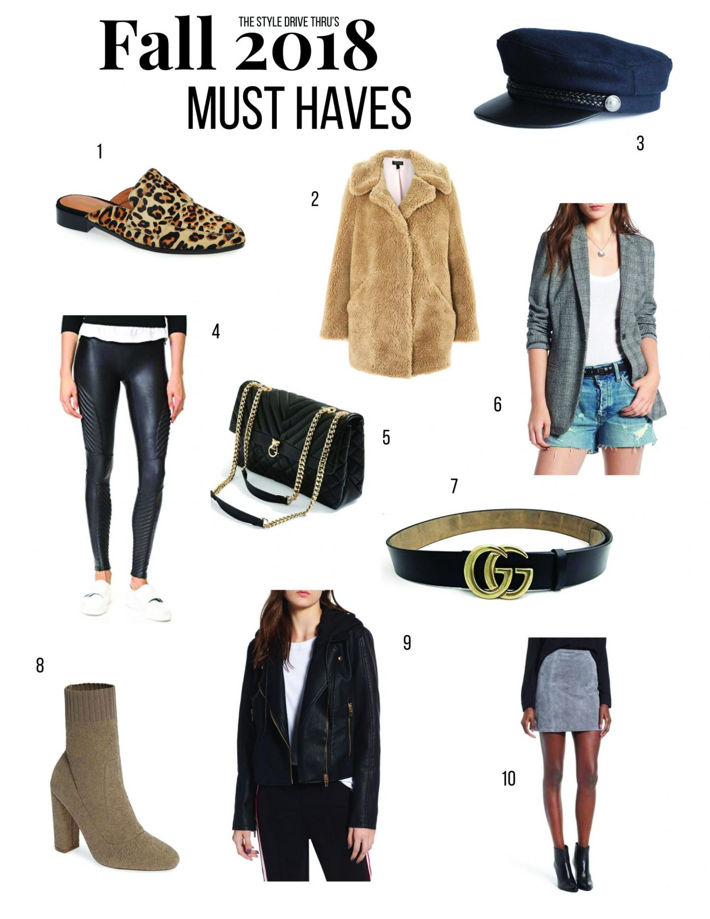 Must Haves for Fall 2018 – The Style